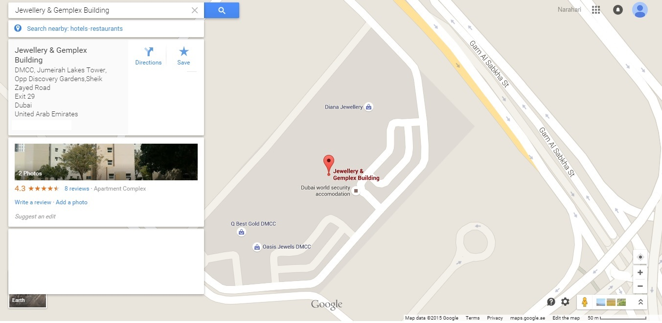 Contact us arcrete services jlt location map gumiabroncs Gallery